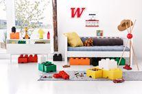 LEGO® Opbergbox Oranje 25 x 25 x 18 cm