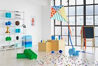 LEGO® Opbergbox met Lade Lichtblauw 25 x 25 x 18 cm