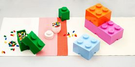 LEGO® Opbergbox Groen 12.5 x 12.5 x 18 cm