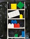 LEGO® Opbergbox Geel 12.5 x 12.5 x 18 cm