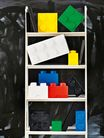 LEGO® Opbergbox met Lade Wit 25 x 25 x 18 cm