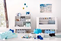 LEGO® Opbergbox met Lade Blauw 25 x 25 x 18 cm