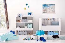LEGO® Opbergbox met Lades Azuurblauw 50 x 25 x 18 cm