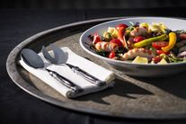 Laguiole Style de Vie Saladebestek Zwart Ebbenhout Deluxe