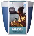 Mepal Frischhaltedose Ellipse To Go Blau 500 ml