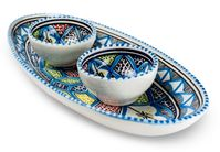 Dishes_Deco_Ovale_Schaal_Turquoise_Blue_