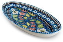 Dishes & Deco Ovale Schaal Turquoise Blue 30 cm