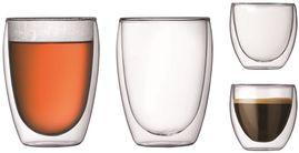 Bodum Dubbelwandige Glazenset Pavina 8 & 35 cl 4-Delig