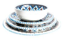 Dishes & Deco Serviesset Turquoise Blue Fine - 16 Delig