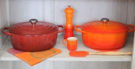 Le Creuset Voorraadpot Oranje 0.5 Liter
