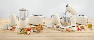 SMEG Broodrooster Crème 2x2