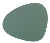 LIND DNA Placemat Leer Nupo Pastel Groen 37 x 44 cm