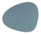 LIND DNA Placemat Leer Nupo Lichtblauw 37 x 44 cm