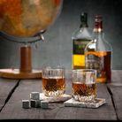 Jay Hill Whisky Stenen 8 Stuks