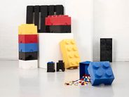 LEGO® Opbergbox Zwart 12.5 x 12.5 x 18 cm