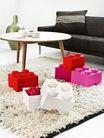 LEGO® Opbergbox met Lade Rood 25 x 25 x 18 cm