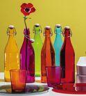Bormioli Beugelfles Giara Fuchsia 1 Liter