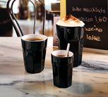 ASA Espresso Kopje Crazy Mugs Zwart 10 cl