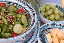 Dishes & Deco Ontbijtbord Turquoise Blue Ø 24 cm