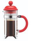 Bodum Cafetiere Caffettiera Rood 1 Liter