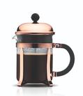 Bodum Cafetière Chambord Zwart/Koper 0.5 Liter