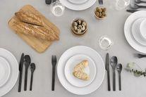 Bodum Ontbijtborden Douro Wit Ø 23 cm - 4 Stuks