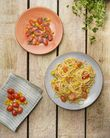 Cosy & Trendy Dessertbord Granite Oranje Ø 22 cm