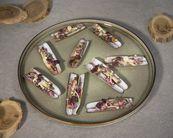 Cosy & Trendy Dessertbord Quintana Green Ø 14 cm