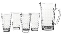 Leonardo Schenkkan en Glazen Optic 1 Liter
