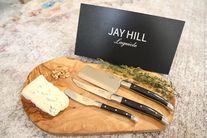 Jay Hill Kaasmessenset Laguiole Zwart 3 Stuks