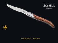 Jay Hill Steakmessen Laguiole Rozenhout 6 Stuks