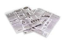 Vetvrij Papier Hamburger- Pizza Slice Zakjes 13 x 14 cm - 1000 stuks