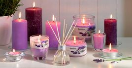 Bolsius geurlichten Aromatic Velvet Rose - 18 stuks sfeer