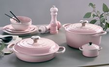 Le Creuset Braadpan Campagnard Shell Pink Ø 26 cm