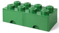 LEGO® Opbergbox met Lades Groen 50 x 25 x 18 cm