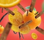Maison Berger Autoparfum Navulling Orange Cinnamon - 2 Stuks