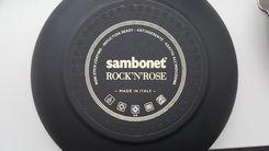 Sambonet Wokpan Rock 'n' Rose Zwart ø 28 cm