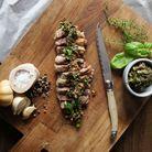 Laguiole Style de Vie Steakmessen Premium Line Parelmoer 6 Stuks