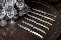 Laguiole Style de Vie Steakmessen Premium Line Treasure 6 Stuks