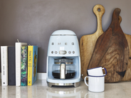 SMEG Filterkoffie Apparaat Pastelblauw DCF02PBEU