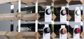 Traditional Wijnrek Stairs Lichte Eik - 27 Flessen