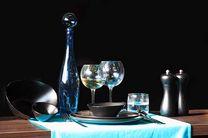 Cosy & Trendy Schaaltje Vongola Black 10.5 x 9 cm