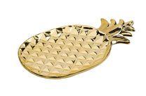 Cosy & Trendy Serveerschaal Ananas Goud 35 x 20.5 cm