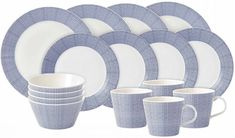 Royal Doulton Serviesset Pacific Dot 16-Delig