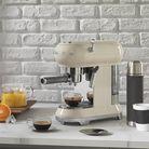 SMEG Espressomachine Crème
