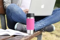 Emsa Thermosbeker Travel Mug Waterblauw 0.36 Liter