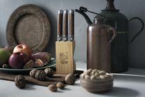 Laguiole Style de Vie Steakmessen Premium Line Wood 6 Stuks