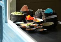 Cosy & Trendy Sauskommetjes Streetfood 8.5 x 7 x 4.5 cm - 10 Stuks