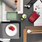 ASA Selection Tischset Leder schwarz 33 x 46 cm