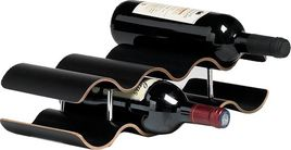 Top & Trendy Wijnrek Panama Zwart - 7 Flessen